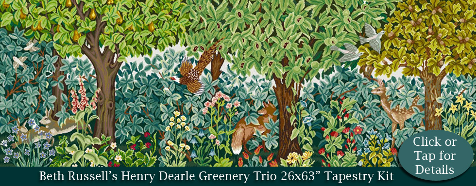 Beth Russell Henry Dearle Greenery Trio