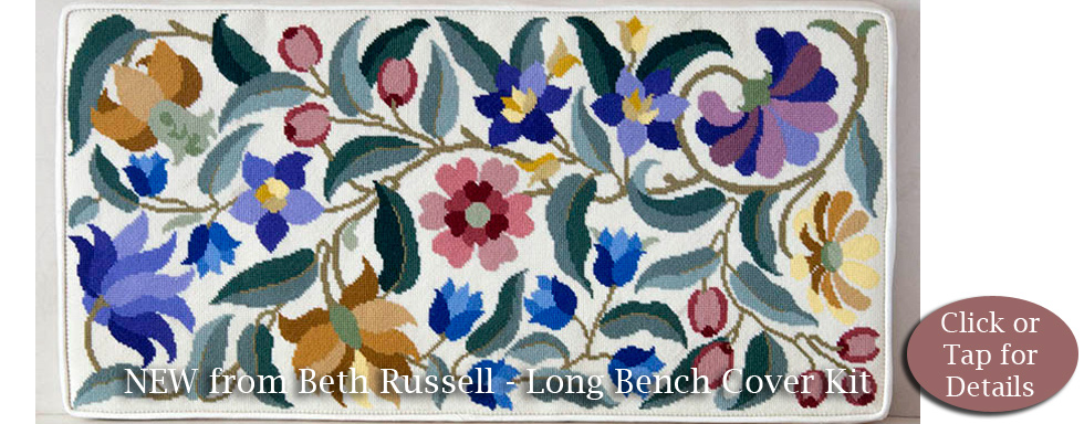 Beth Russell New Long Bench Cover