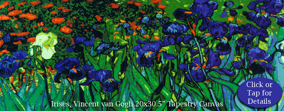 Van Gogh Irises from Collection d'Art