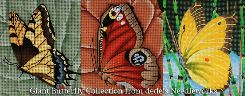 Giant Butterfly Collection from dede's Needleworks