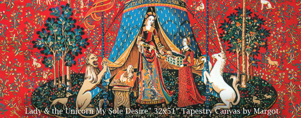 My Wole Desire Tapestry