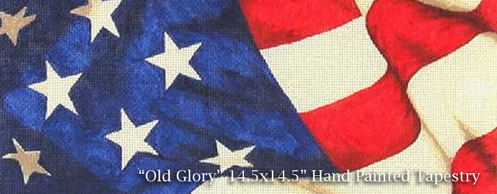 Old Glory American Flag Tapestry