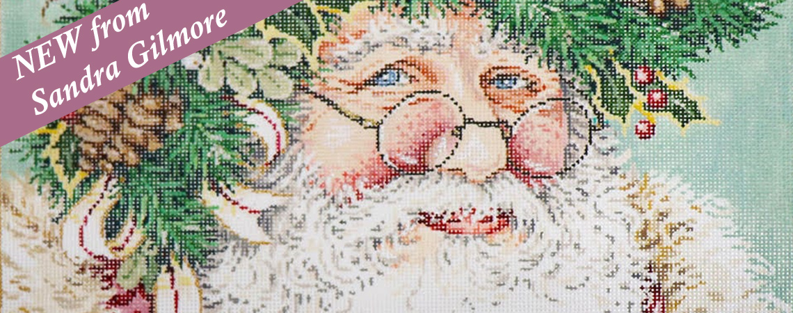 New Sandra Gilmore Needlepoint