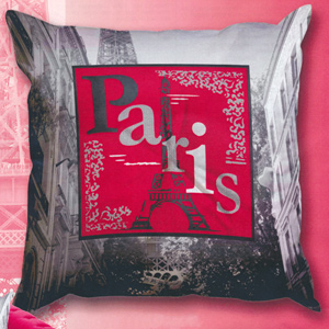 SEG de Paris Needlepoint Cushion Kit - Paris