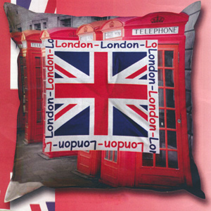SEG de Paris Needlepoint Cushion Kit - London
