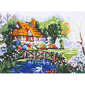 Beautiful Summer  - Collection d'Art Needlepoint Canvas