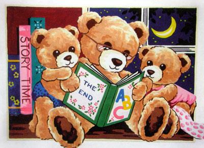 Needlepointus World Class Needlepoint Teddy Bear