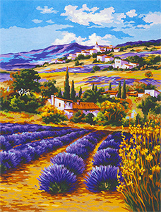 Summer in Provence - Collection d'Art Needlepoint Canvas