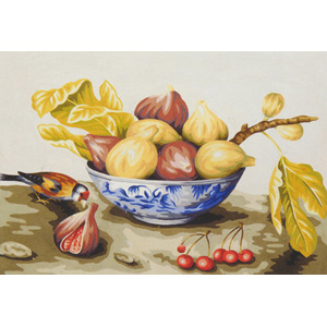 Fruit Still Life - Collection d'Art Needlepoint Canvas