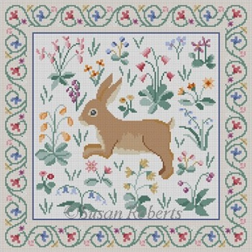 Susan Roberts Needlepoint Designs - Cluny Rabbit