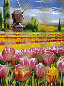 Royal Paris La Scene Neerlandaise (Netherlands Scene) Needlepoint Canvas or Kit