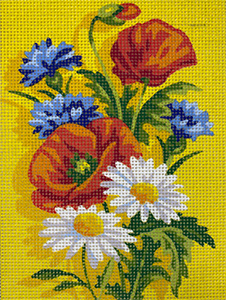 Royal Paris L'ete (Summer) Needlepoint Canvas or Kit