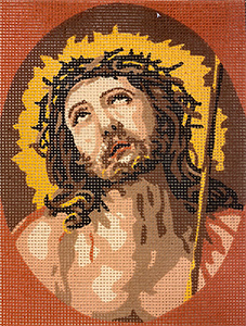 Royal Paris Ecce Homo Needlepoint Canvas or Kit