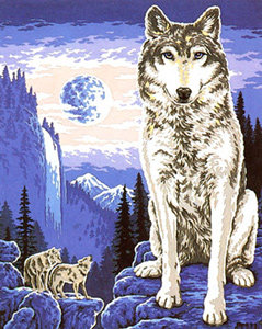 Call of the Wild  - Collection d'Art Needlepoint Canvas