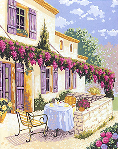 Beautiful Morning  - Collection d'Art Needlepoint Canvas