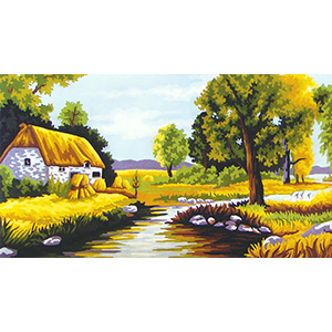 Summer II  - Collection d'Art Needlepoint Canvas