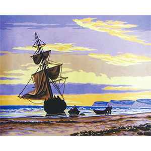 Shipwreck  - Collection d'Art Needlepoint Canvas
