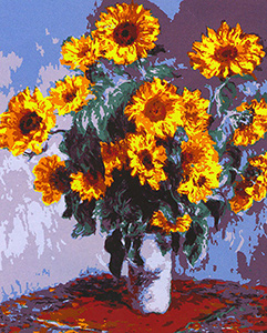 Sunflower Bouquet  - Collection d'Art Needlepoint Canvas
