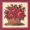 Elizabeth Bradley - Miniatures - Rose Basket Miniature Kit