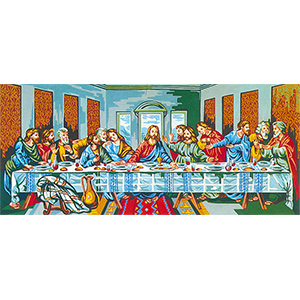 Last Supper (Da Vinci)  - Collection d'Art Needlepoint Canvas