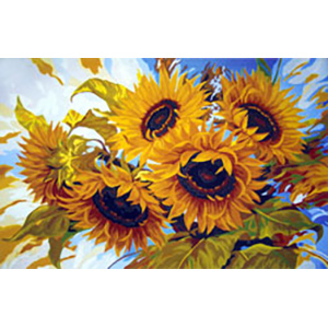 Sunflowers II  - Collection d'Art Needlepoint Canvas