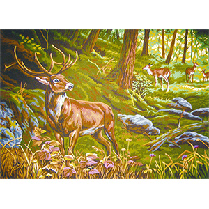 The Forest  - Collection d'Art Needlepoint Canvas