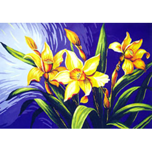 Jonquils (Daffodils) - Collection d'Art Needlepoint Canvas