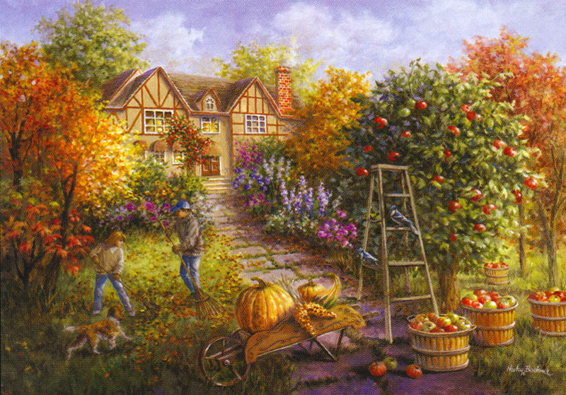 Needlepointus World Class Needlepoint Apple Harvest
