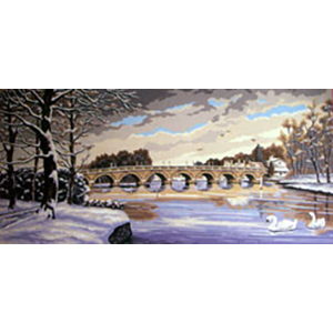 Winter Beauty  - Collection d'Art Needlepoint Canvas