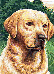 Royal Paris Needlepoint Labrador