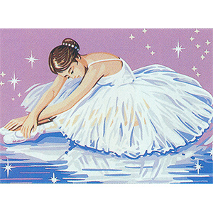 Royal Paris Needlepoint Dancer Canvas