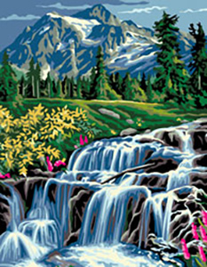 Royal Paris Needlepoint The Cascade