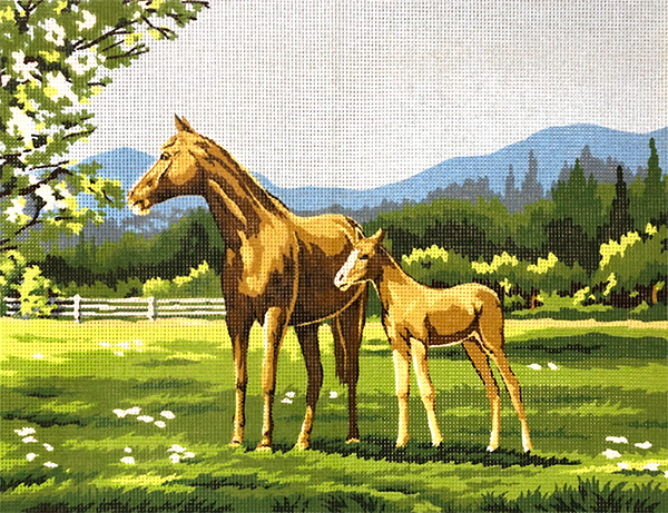 Margot Creations de Paris Needlepoint The Colt