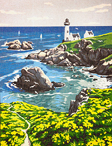 Margot Creations de Paris Needlepoint The Lighthouse
