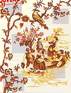 Margot Creations de Paris Needlepoint - Inspiration Toile de Jouy