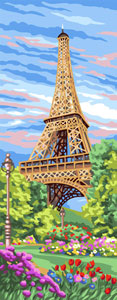 Royal Paris Needlepoint - Eiffel Tower