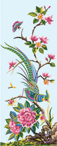 Royal Paris Needlepoint - Bird of Paradise