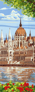 Royal Paris Needlepoint - Hungarian Parliament