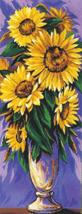 Royal Paris Needlepoint - Sunflowers