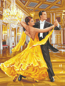 Royal Paris Needlepoint Salle de Bal (Ballroom Dance)