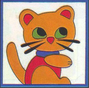 Margot Creations de Paris Needlepoint - Kits for Children - Minou