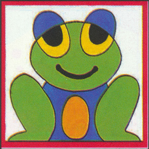 Margot Creations de Paris Needlepoint - Kits for Children - Frog