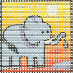 Margot Creations de Paris Needlepoint - Kits for Children - Elephant 2