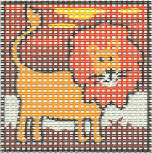 Margot Creations de Paris Needlepoint - Kits for Children - Lion