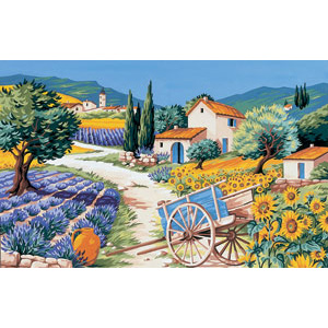 Royal Paris Needlepoint - Provence Canvas