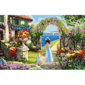 Royal Paris Needlepoint - The Garden