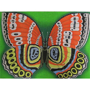 The Butterfly Effect Hand  Painted Canvas