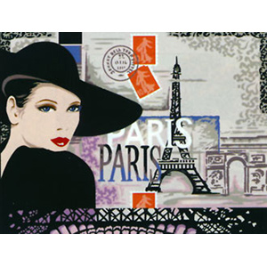 Margot Creations de Paris Needlepoint - Large Canvases - Mademoiselle