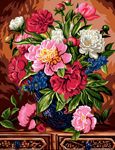 Royal Paris Needlepoint - The Bouquet