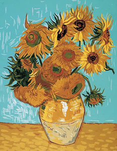 Royal Paris Needlepoint - Van Gogh Sunflowers Canvas